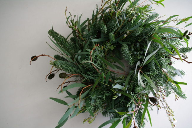 2018Christmas wreath/クリスマスリース